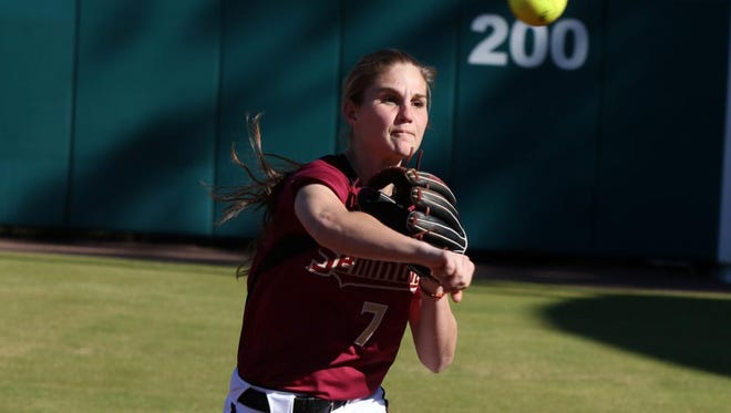 Enka alum Jasmine Palmer is a freshman softball player for Florida State.