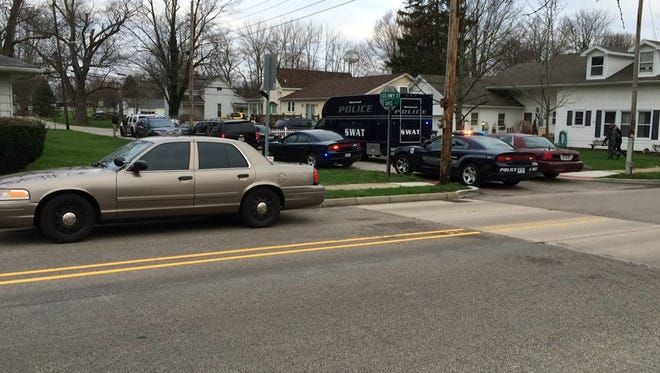 The Richmond Police Department SWAT team was called to Fountain City on Friday morning on a report of a possible shooting.