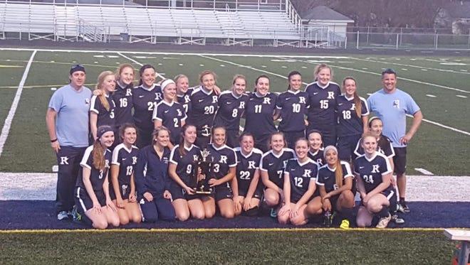 Richmond girls soccer team