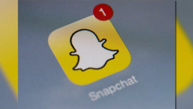 Snapchat and Instagram are competing with Facebook for people's attention.