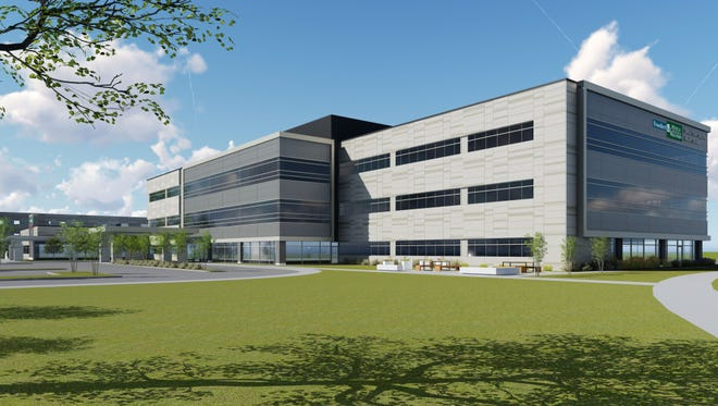 The Froedtert & the Medical College of Wisconsin Drexel Town Square Health Center in Oak Creek, scheduled to open next fall, initially will employ about 150 people and provide a range of services, including outpatient surgery and cancer care.