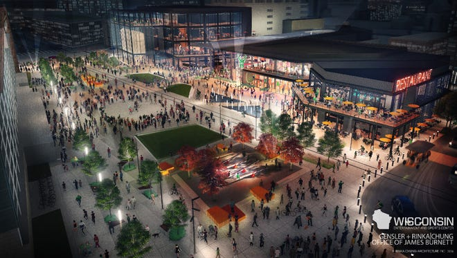 The Milwaukee Bucks are launching a new partnership to create employment opportunities for building and operating their new arena and the adjoining entertainment district