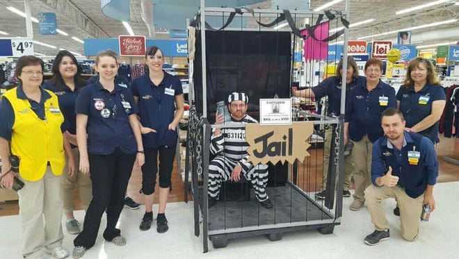Associates from Springfield Walmart locations participated in fundraising events from August to October to raise funds for the Children's Miracle Network.