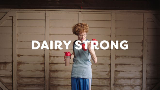Dairy Management Inc., funded by America's 42,000 dairy farmers, has created a new advertising campaign aimed at boosting sales of milk-based products, from what's poured from a jug to cheese and yogurts. It's a more conventional campaign than the last one, Udder Truth, that relied on quirky humor.