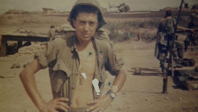 Amador Duran served in the Vietnam War. In 1968 he was wounded and received a Purple Heart for his valor.