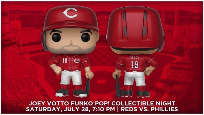 The Reds' Joey Votto Funko Pop! collectible