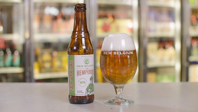 New Belgium released a hemp-infused beer called Hemperor HPA in the spring and is now teaming with Willie Nelson on a campaign to loosen U.S. hemp regulations.