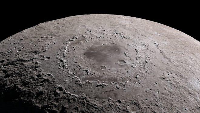 Take a virtual tour of the Moon in all-new 4K resolution, thanks to data provided by NASA's Lunar Reconnaissance Orbiter spacecraft.
