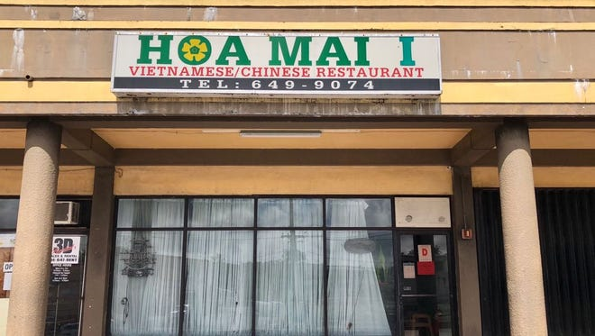 Hoa Mai I restaurant in Harmon is shown in this May 9, 2018 photo. The restaurant on Route 16 was shut down on May 8, by health inspectors who noted an active roach infestation.