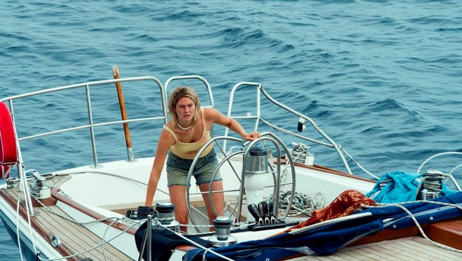 "Shailene Woodley stars in  ""Adrift."" The movie is playing at Regal West Manchester Stadium 13 and R/C Hanover Movies."