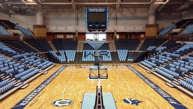 The Beeholdzil Fighting Scouts Events Center in Ft. Defiance, Ariz., will host a women's basketball game between ASU and Baylor.