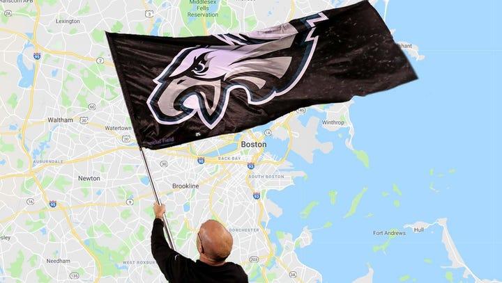 Eagles Super Bowl billboard set for four weeks in Boston, if fans step up