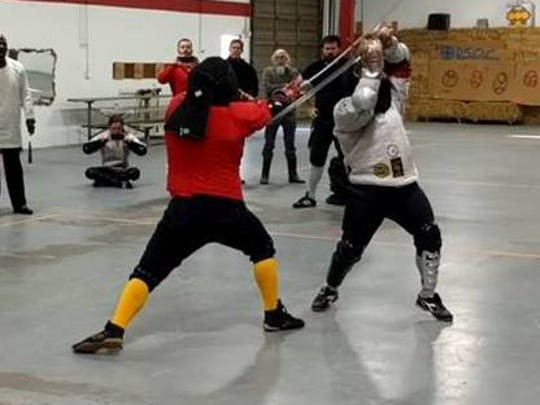 Iron Gate Swordfighting scored two medals this weekend.