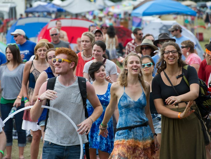 Saturday at the Grassroots Festival in Trumansburg.