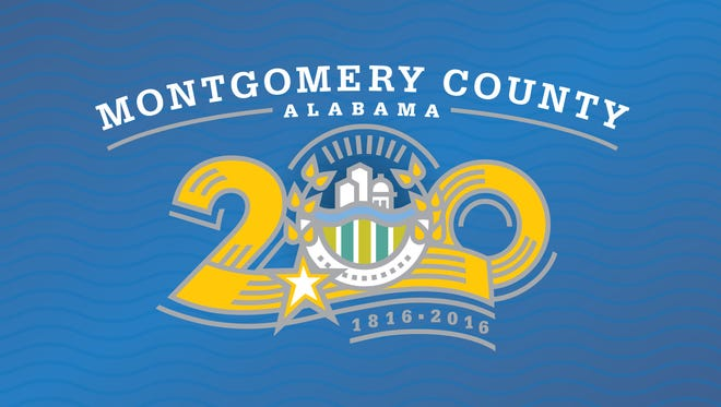The new logo designed for Montgomery County's bicentennial.