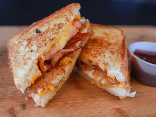 Grilled Cheese Chicken Sandwich