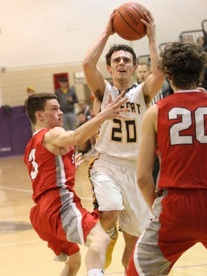 Old Fort's Jacob Webb scored 26 points Friday in a win over SJCC.