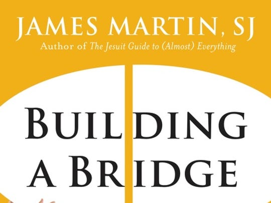 "The Rev. James Martin published his latest book, ""Building"
