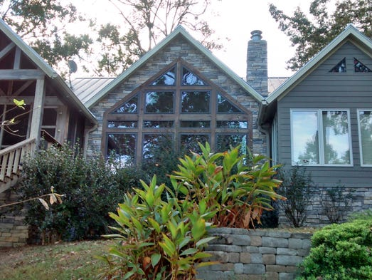 This $849,000 rustic retreat on Toledo Bend features