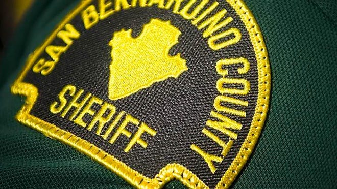 San Bernardino County Sheriff's deputies responded to a burglary call in Victorville on Saturday, Aug. 15, 2020. A woman who was unidentified was taken into custody.