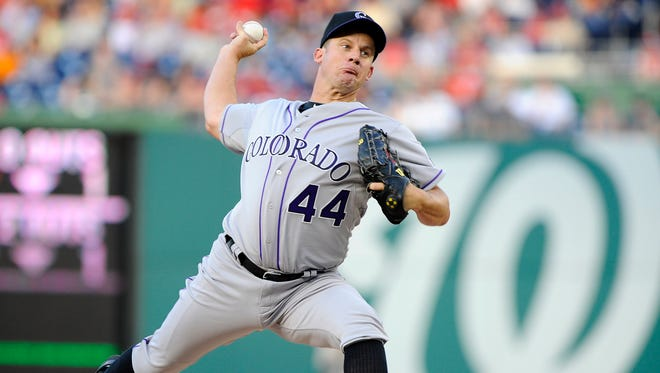 Roy Oswalt, 36, had a 163-102 career record with a 3.36 ERA.