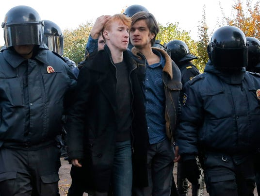 gay rally russia