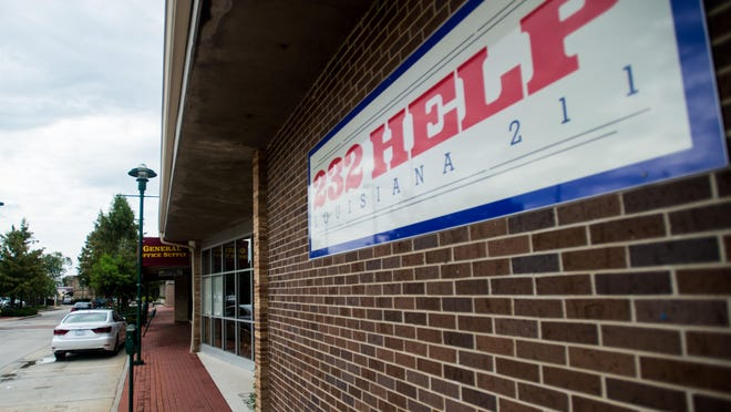 The 232-HELP office is pictured on Jefferson Street in downtown Lafayette, La., Wednesday, Sept. 9, 2015.