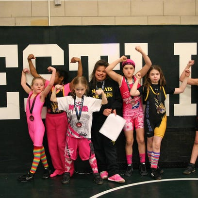 The Matcats had several girls place at the War of the Roses state tournament.