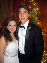 Mary Catherine Brennan and Nelson Kaye were at Memphis Junior Cotillion.