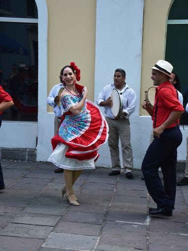 Roam the streets of Old San Juan, Puerto Rico and don't