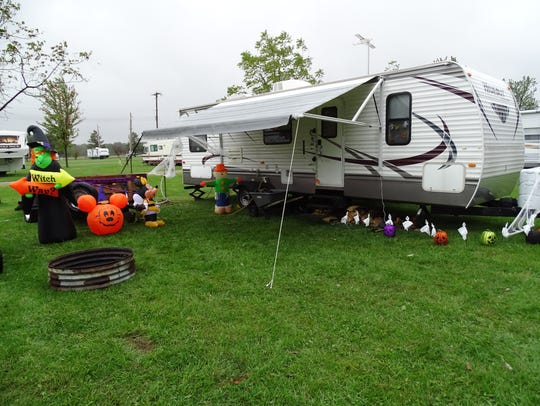 RV decoration by Jessica Everage captures the fun side