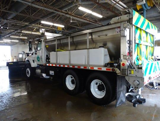 New Ohio Department of Transportation trucks featuring