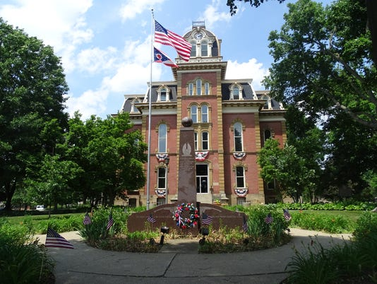 COS Coshocton County Courthouse