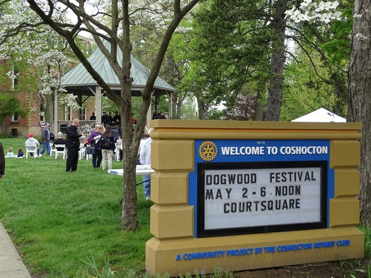 The 32nd Annual Dogwood Festival continues downtown through Friday.