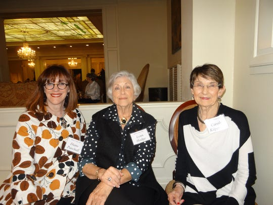 Diane Paschall, Lynn Hodge, and Carole Kilpatrick