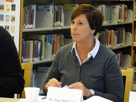 Fremont City Schools Superintendent Traci McCaudy announced Monday she will retire when her contract expires July 31.