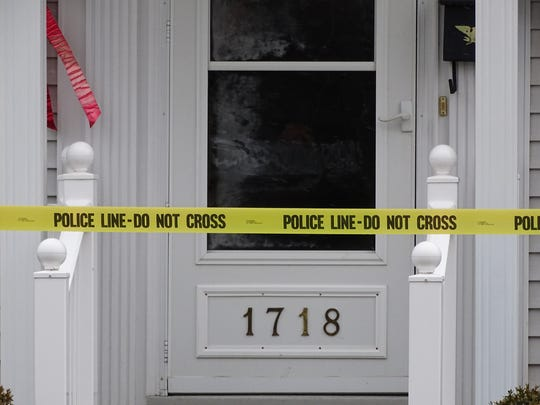 Police respond to 1718 Birchard Ave. on a report of an 85-year-old stabbed Friday morning.