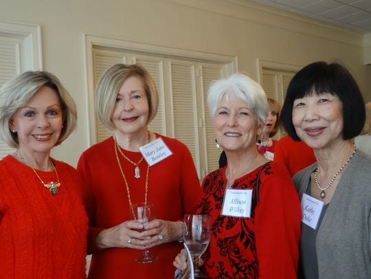 Carolyn Rester, Mary Jane Bentley, Allison Wilkes and