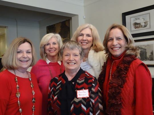 Emily Rash, Judy Haddad, Anita Breen, Nancy Peters