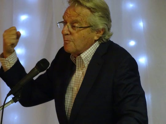 Television personality Jerry Springer said a wall between the U.S. and Mexico will not save Americans from cancer and other health concerns.