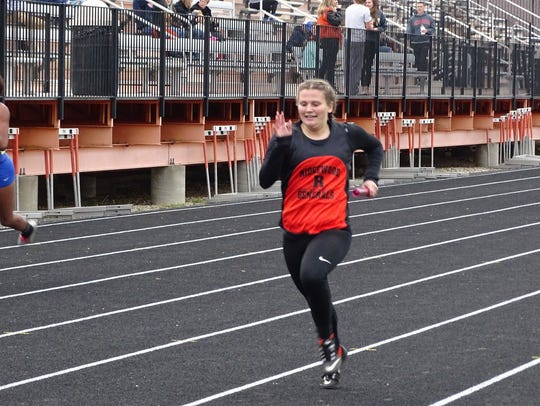 2017 Inter-Valley Conference track meet