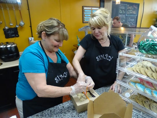 Simply Soups, Salads, Sweets and a Little More owners
