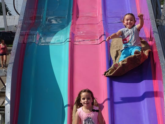 The Hot Air Balloon Festival features rides for children