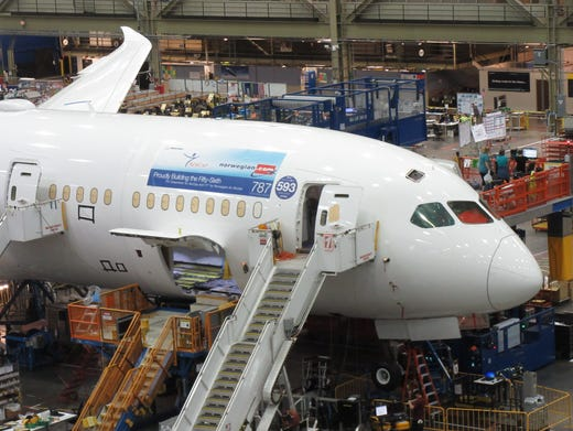 Photo tour: Behind the scenes at the Boeing factory