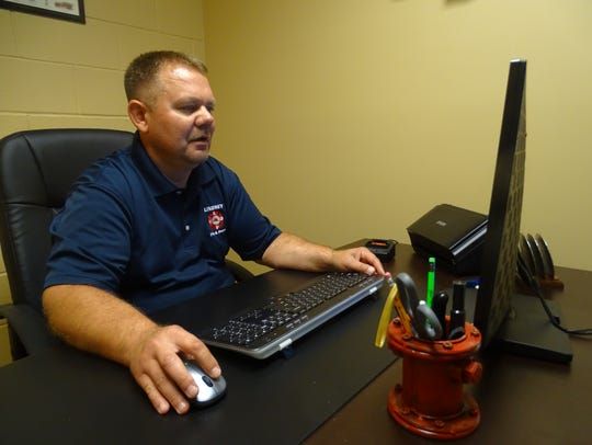 Lindsey Volunteer Fire Department Deputy Chief Jason