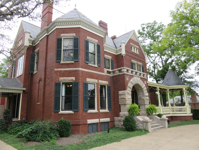 The historic Westwood home on Kingston Pike was built