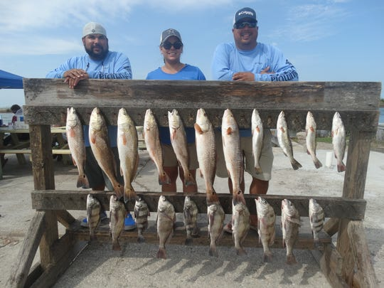 Ironically, since the storm cleared the Coastal Bend the fishing has been excellent.