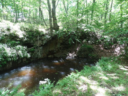The Hasenclever Mine site in Harriman State Park.