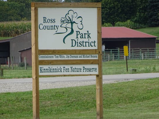 The new Kinnikinnick Fen Nature Preserve is located off Crouse Chapel Road right around the corner from Pickaway-Ross Career and Technology Center.