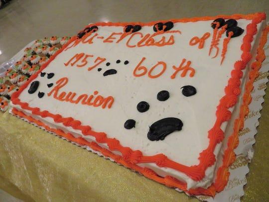 Union-Endicott High School's Class of 1957 gathered